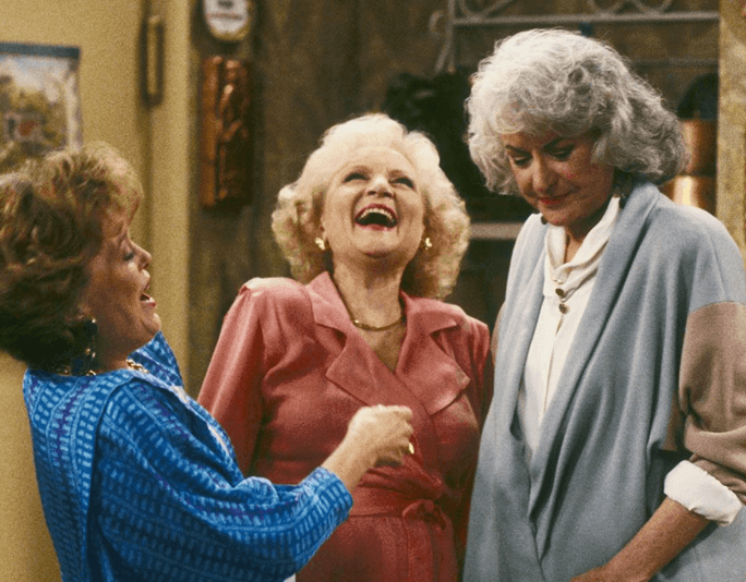 Golden girls laugh main